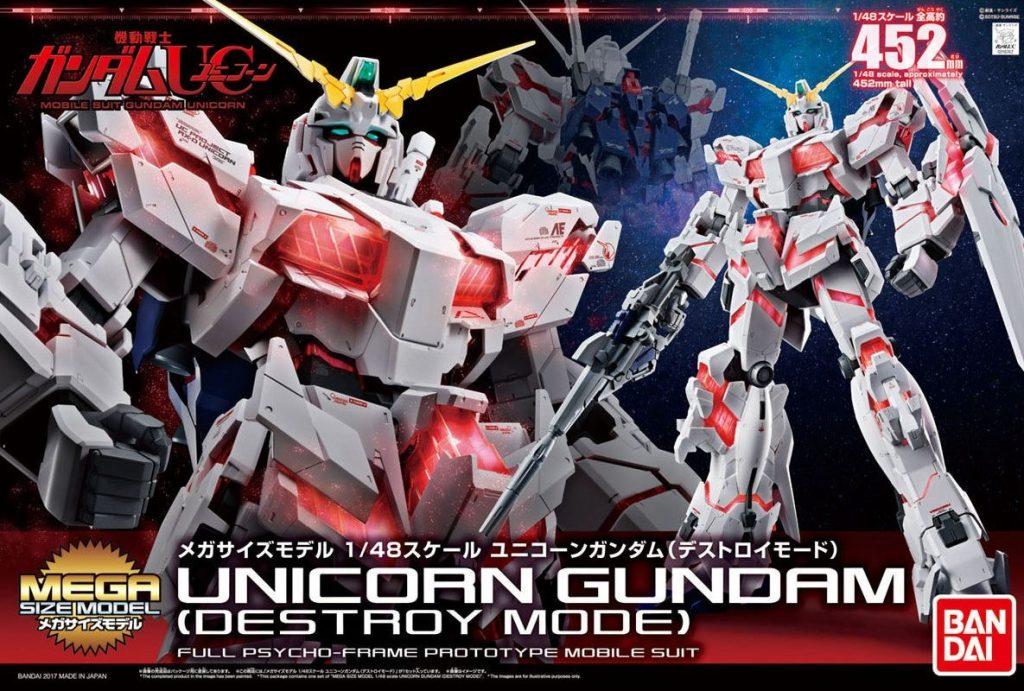 Mega Size 1/40 Unicorn Gundam