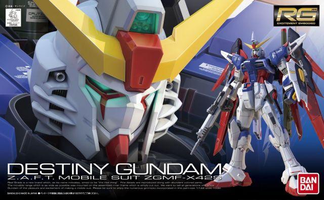 RG Destiny Gundam