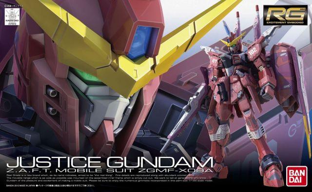 RG Justice Gundam