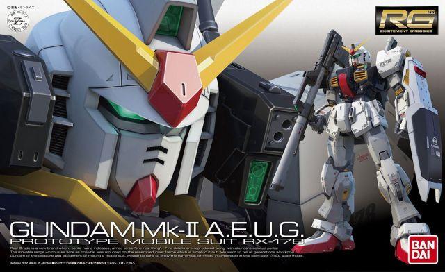 RG RX-178 Mk-II (AEUG) Gundam