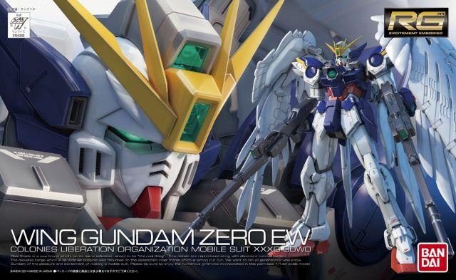 RG XXXG - 00W0 Wing Zero EW Gundam