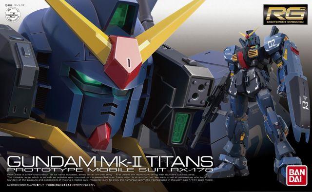 RG RX-178 Mk-II (TITAN) Gundam