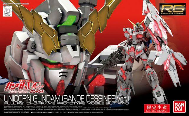 RG Unicorn Gundam Bande Dessienee