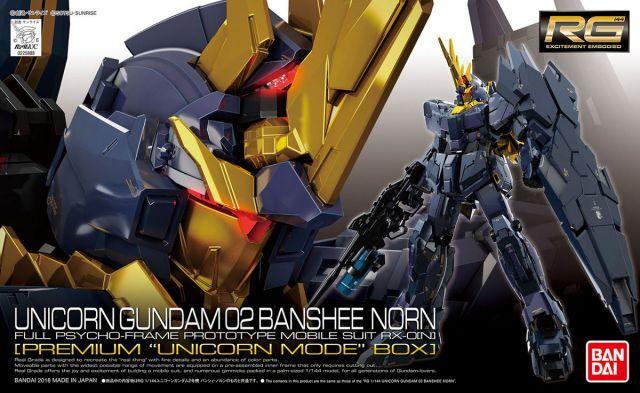 RG Unicorn Gundam 02 Banshee Spec