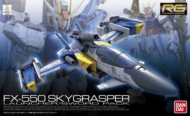 RG FX550 Skygrasper Launcher/Sword Pack