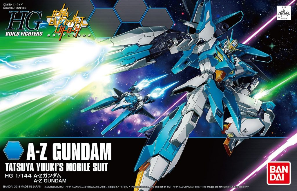 HGBF A-Z Gundam