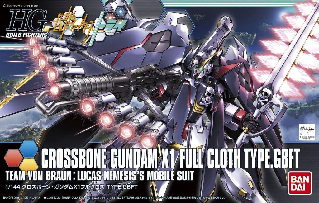 HGBF Crossbone X1 Full cloth