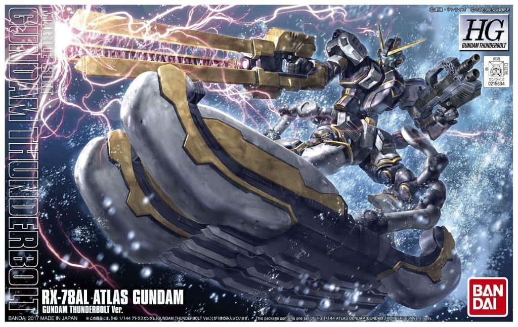 HG Atlas Gundam - Thunder bolt Ver.