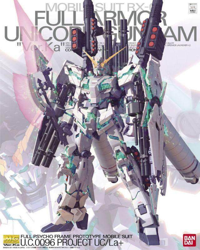 MG RX-0 Full Armor Unicorn Ver.Ka