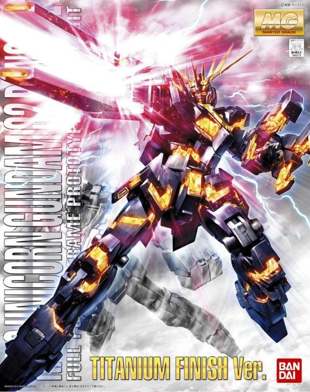 MG RX-0 Unicorn Banshee Titanium