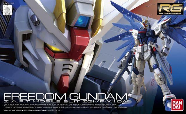 RG Freedom Gundam ZGMF-X10A