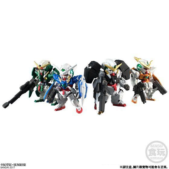 FW GUNDAM CONVERGE CORE GUNDAM 00 10TH ANNIVERSARY MEMORIAL SET
