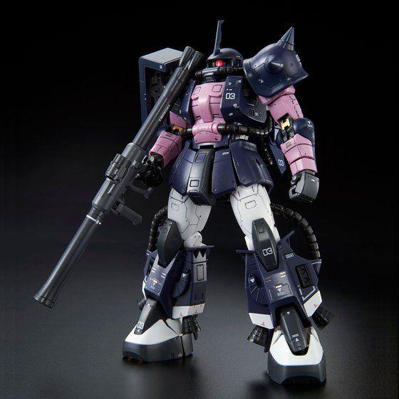 RG MS-06-R-1A Black Tri-Stars Zaku II