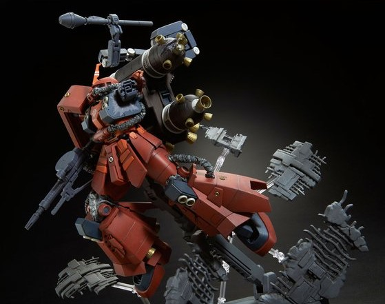 MG Zaku II High Mobility Psycho Zaku Thunderbolt - Last Session