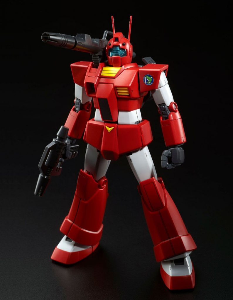 MG GM Cannon RGC-80 RED HEAD (Jaburo Defense Force Type)