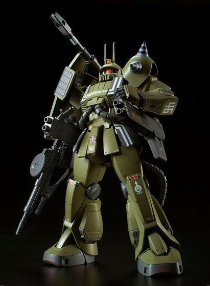 MG MS-06K ZAKU Cannon Ian Graden