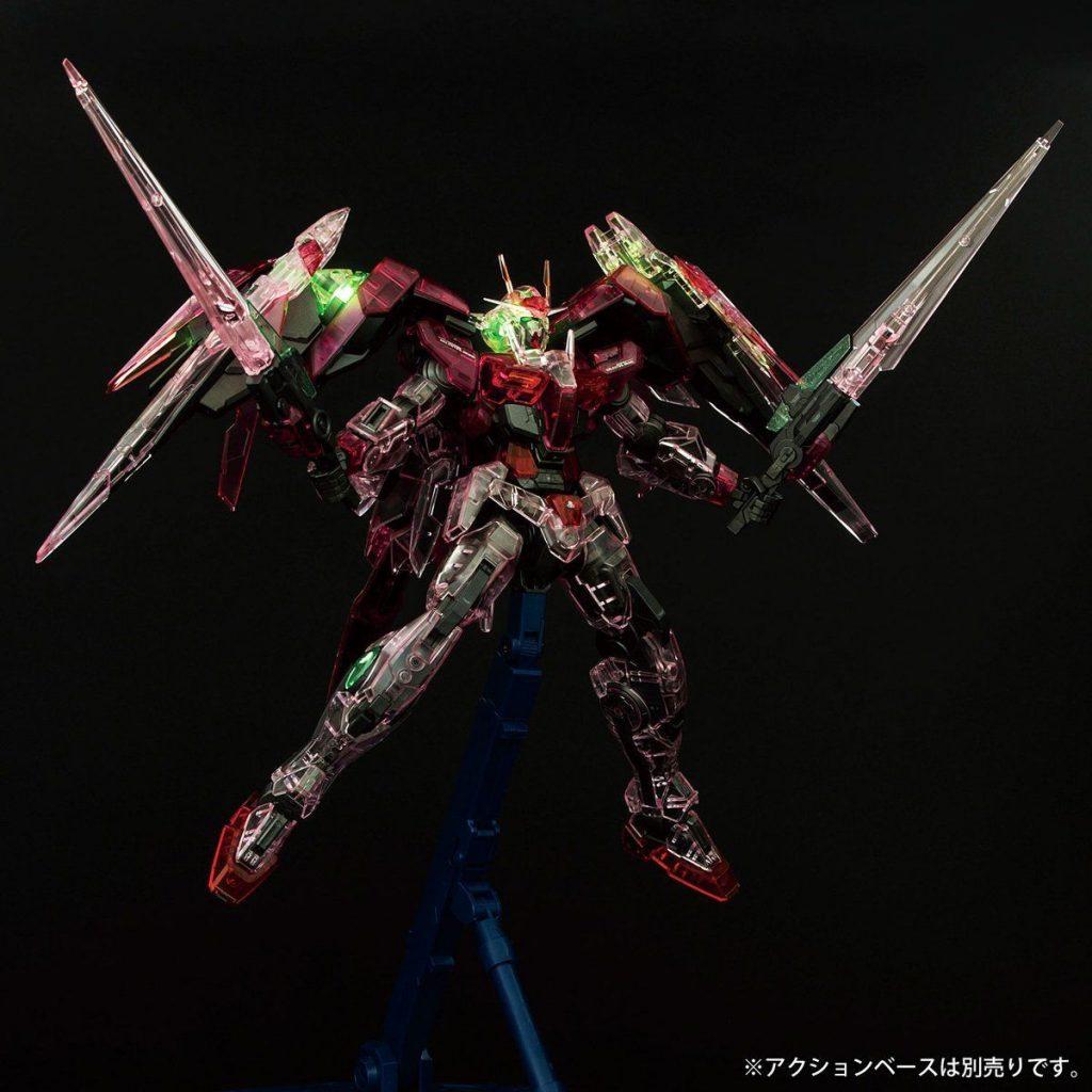 MG Gundam Base Limited Trans Am Raiser - Clear Color