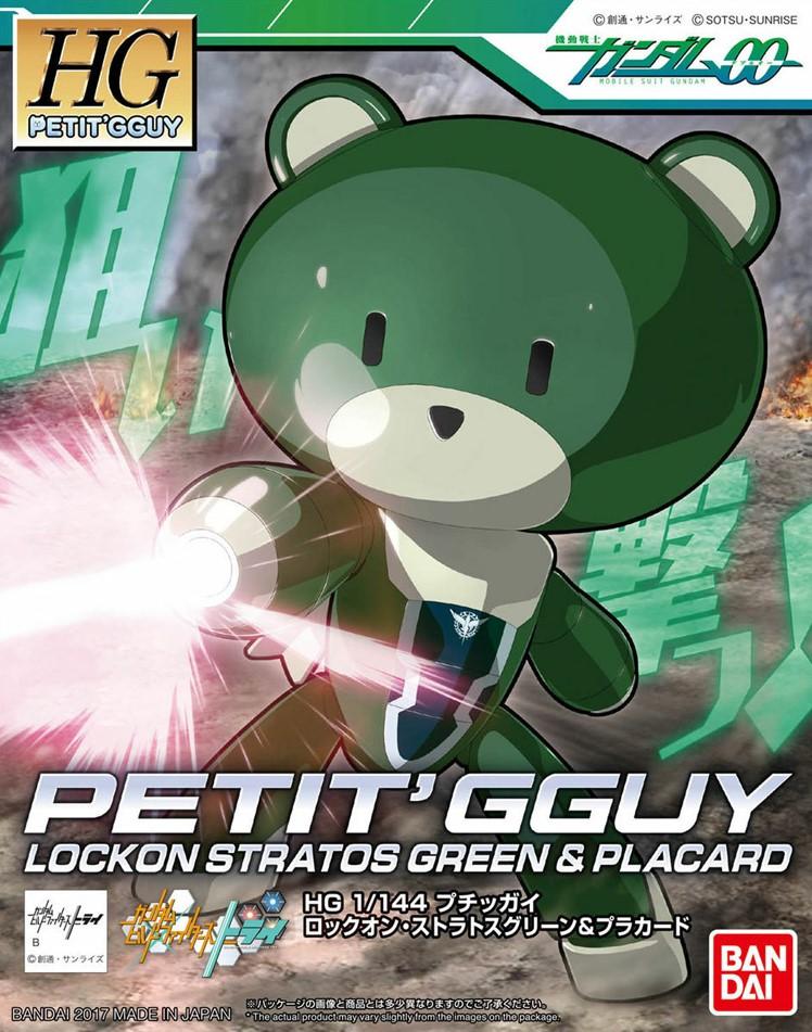 HG Petit Gguy Lockon Stratos - Green