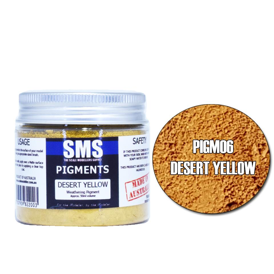 Pigment DESERT YELLOW 50ml