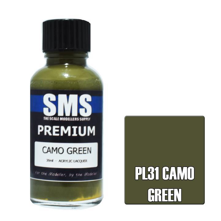 Premium CAMO GREEN 30ml