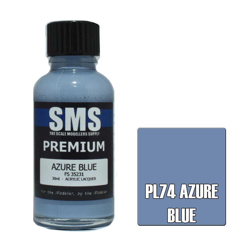 Premium AZURE BLUE 30ml