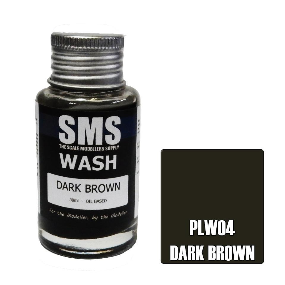 Wash DARK BROWN 30ml