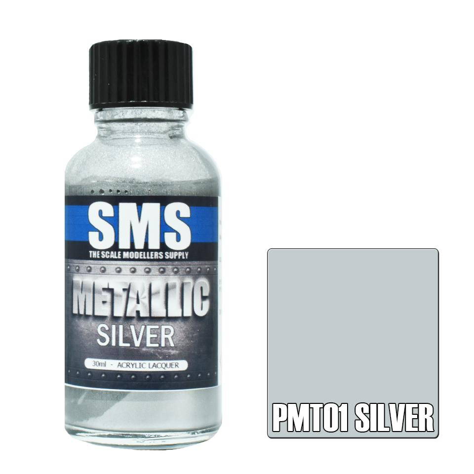 Metallic SILVER 30ml