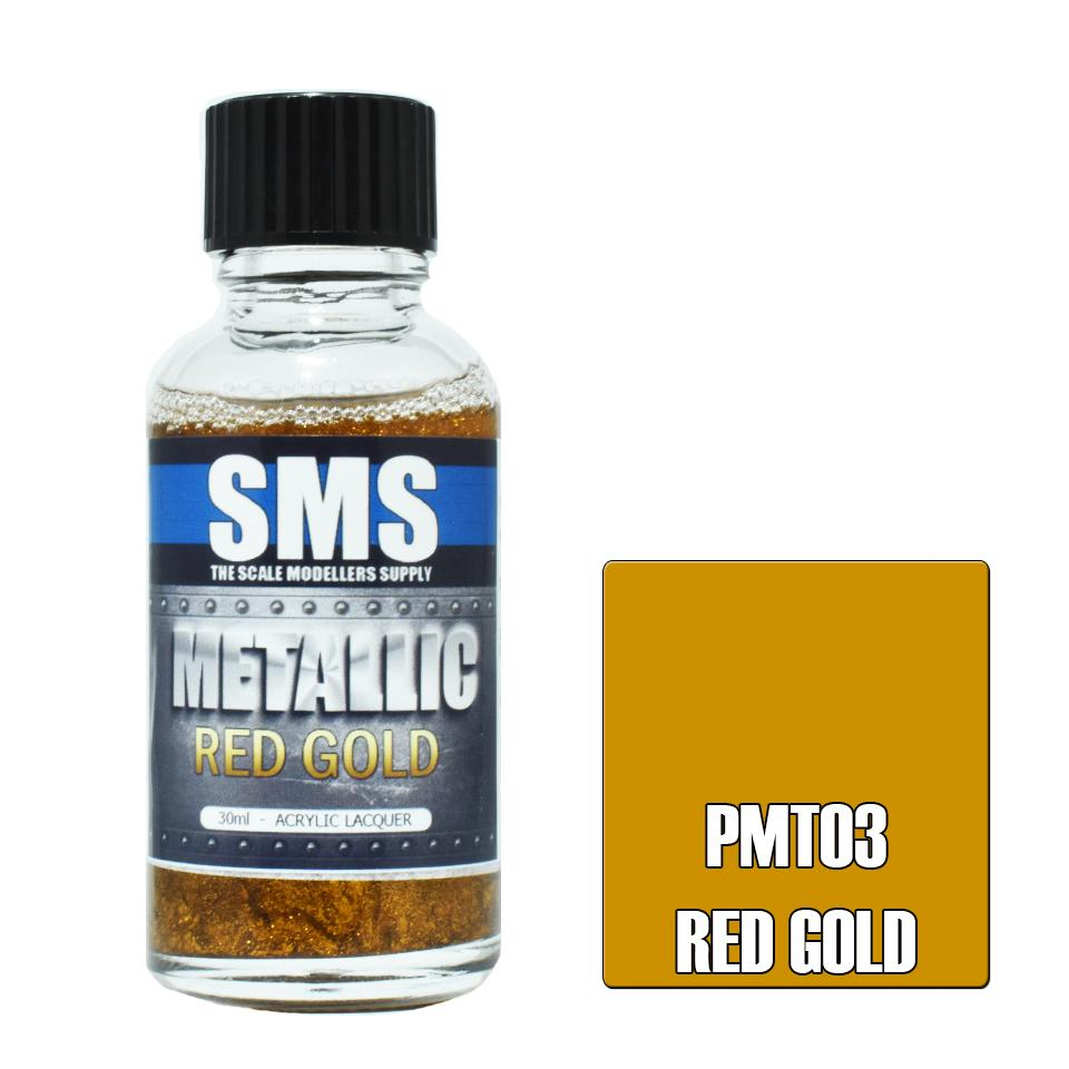 Metallic RED GOLD 30ml