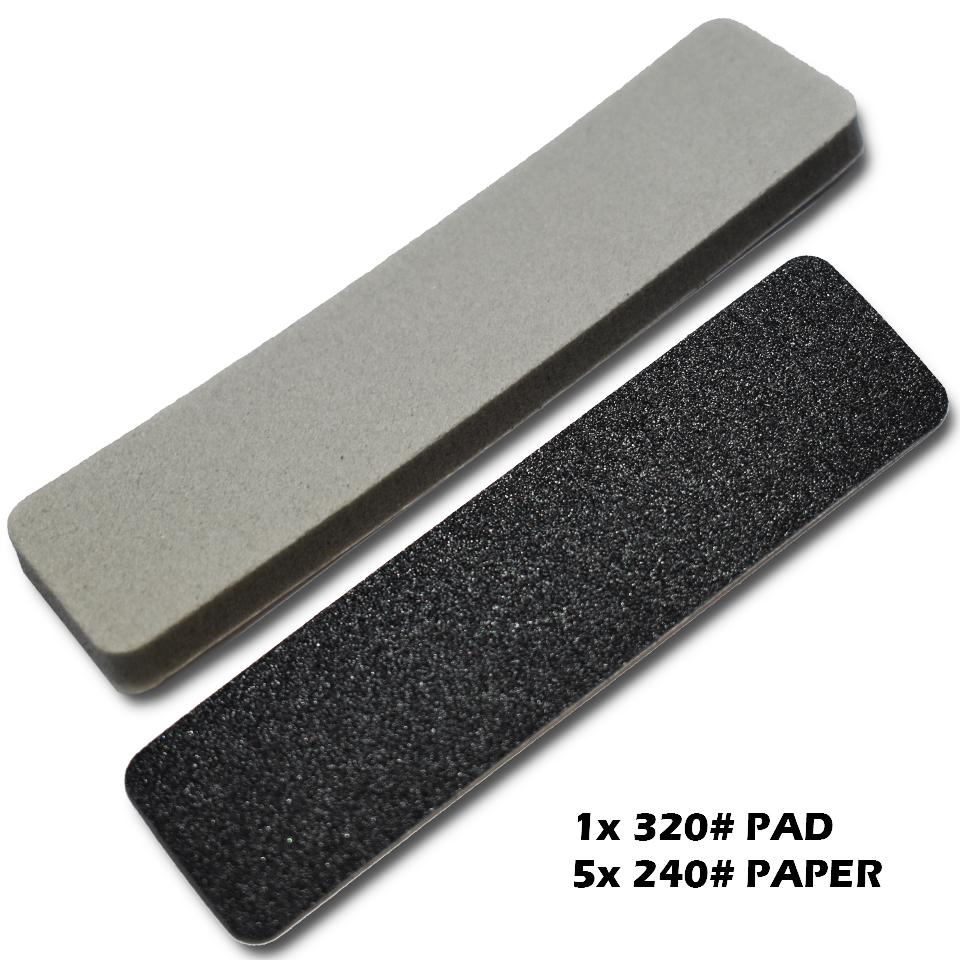 Sanding Plate Refill MEDIUM COARSE + 320# PAD