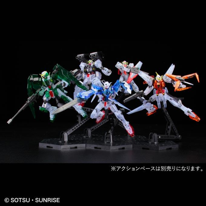 HG Mobile Suit Gundam 00 1st Season MS Set - Clear Color