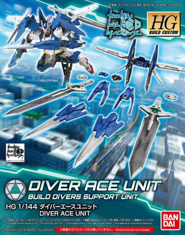 Bandai Diver Ace Unit