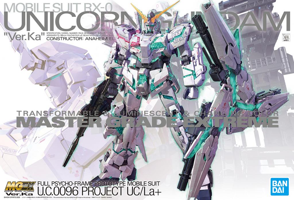 MGEX 1/100 RX-0 Unicorn Gundam Ver. Ka.