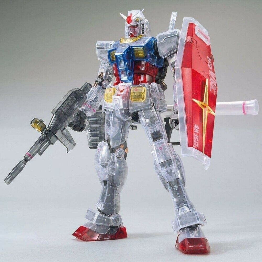 MG Gundam Base Limited RX-78-2 3.0 - Clear Color