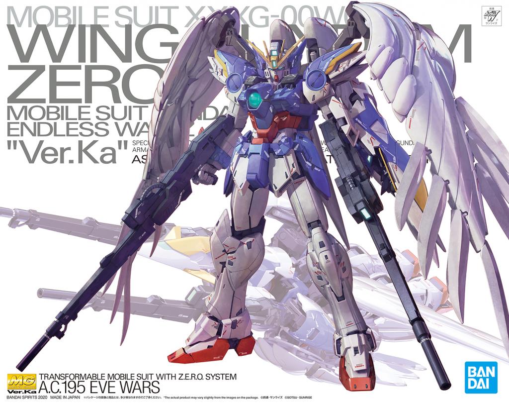MG 1/100 Wing Gundam Zero EW Ver. Ka.