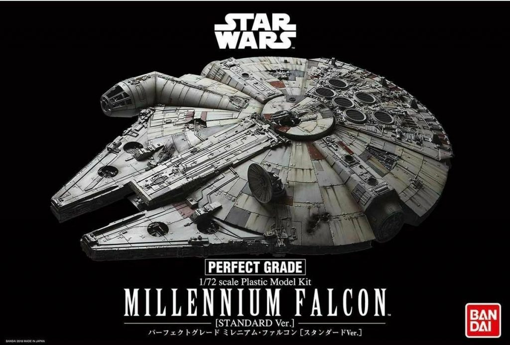 Perfect Grade Star Wars 1/72 Millennium Falcon (Standard Ver.)