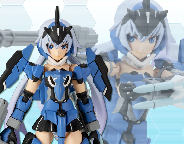 Frame Arms Girl STYLET Plastic Model