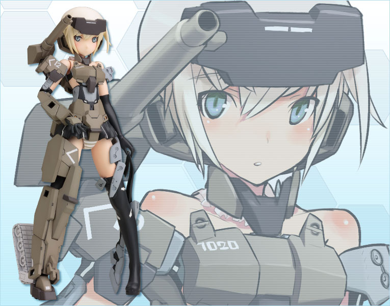 Frame Arms Girl GOURAI Plastic Model