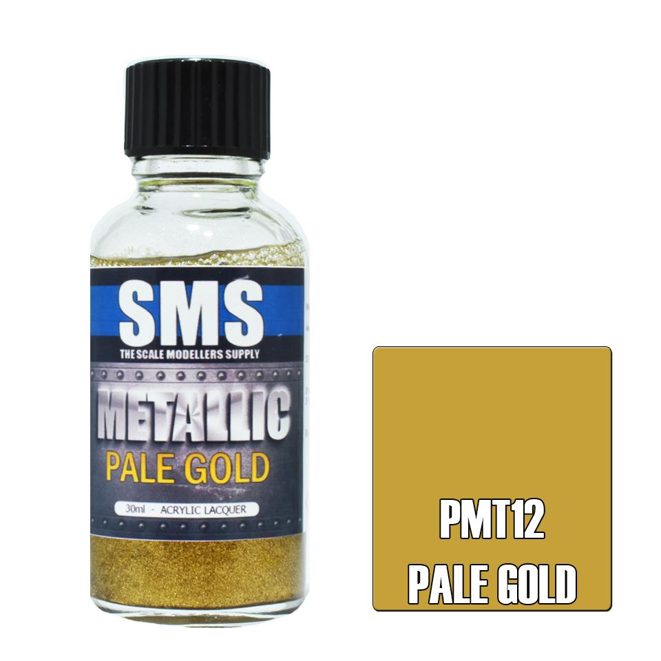 Metallic PALE GOLD 30ml