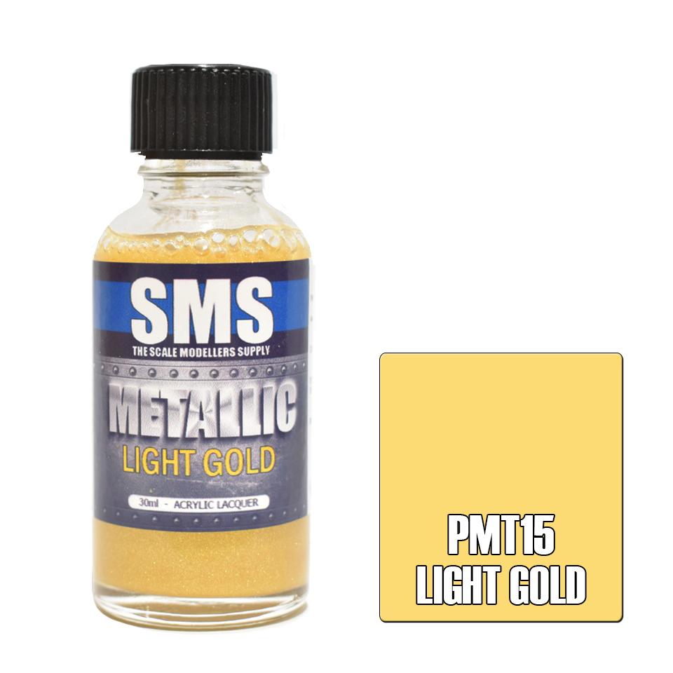 Metallic LIGHT GOLD 30ml