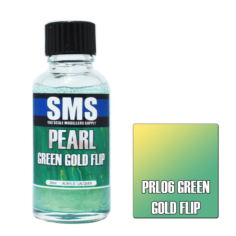 Pearl GREEN GOLD FLIP 30ml