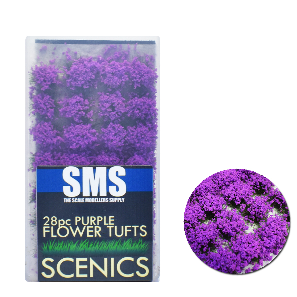 Flower Tufts PURPLE
